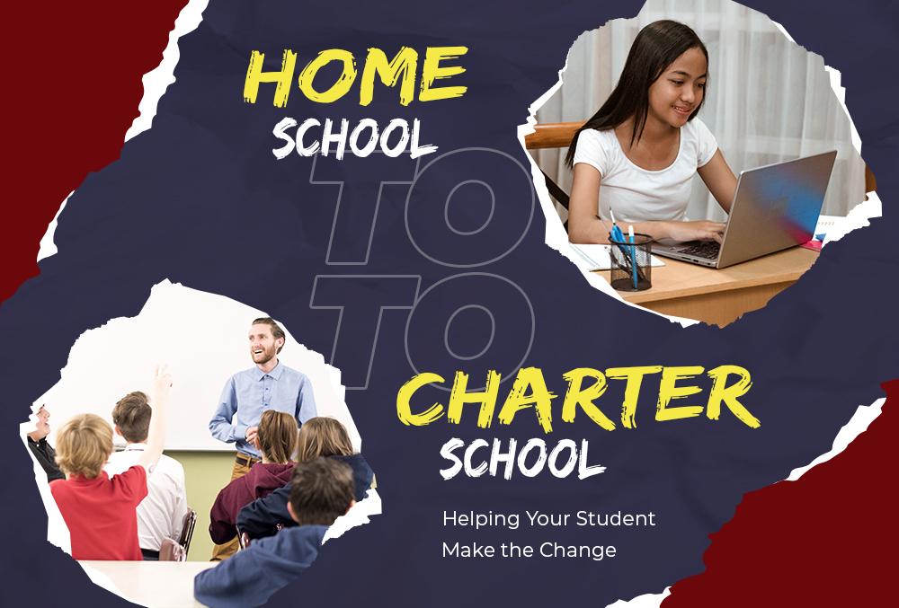 homeschool to charter school header